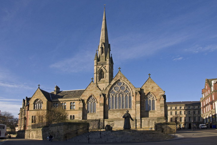 Cath drale catholique st mary 39 s r c cathedral newcastle for Interieur exterieur 01