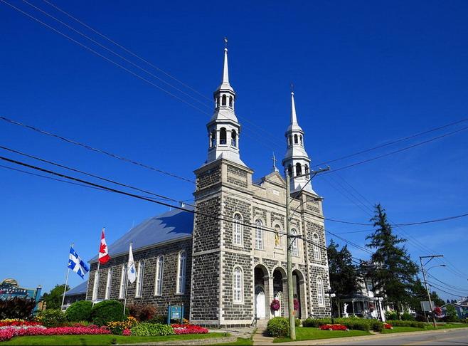 Église Saint-Stanislas-Kostka, Cté de Champlain Sstanislasc01