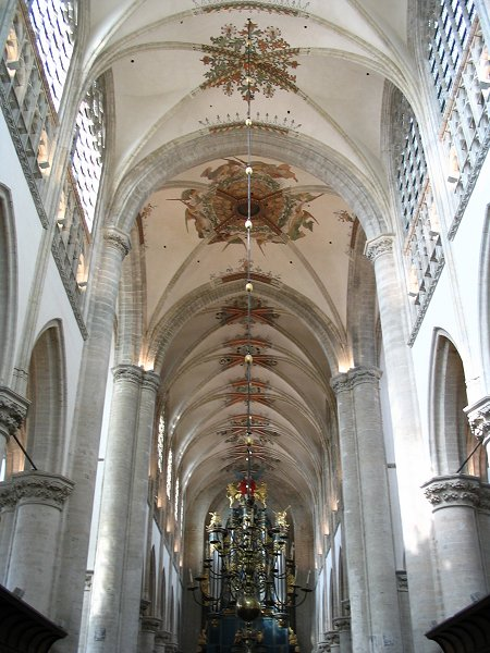 Grande église protestante Notre-Dame, Breda (Hollande)
